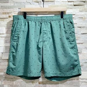 The North Face Tent Pattern Swim Trunks XL